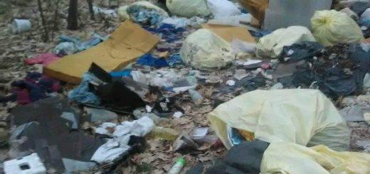 Balassagyarmat külterületén veszélyes hulladék