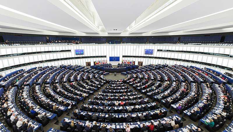 Az Európai Parlament strasbourgi plenáris ülési helyszíne. / Fotó: wikipedia.hu