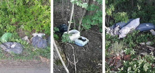 Hajdúszoboszló külterületén hulladéklerakatok