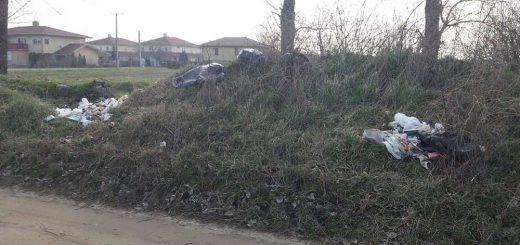 Honfoglalás utca hulladéklerakata Szigetszentmiklóson