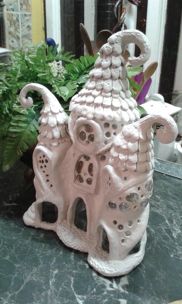 Így néz ki egy manóház pet palackból :)