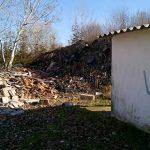 Pirtó: azbesztpala és építési hulladék
