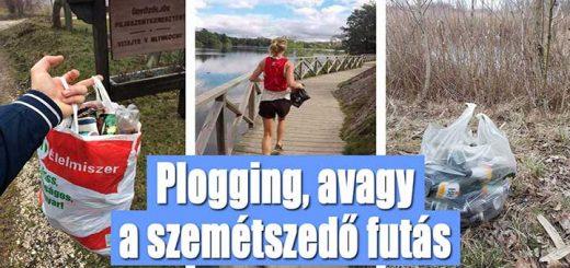 Plogging, avagy a szemétszedő futás