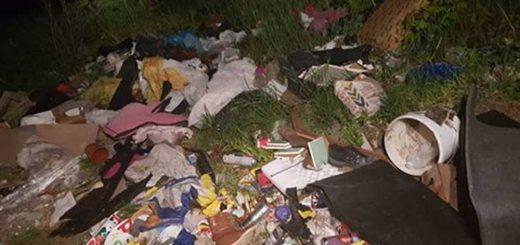 Tura külterületén félszobányi hulladék