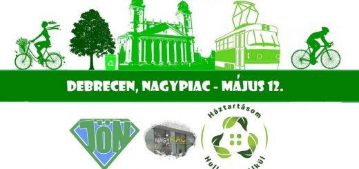 Debrecenben is vásárolj hulladék nélkül flashmob