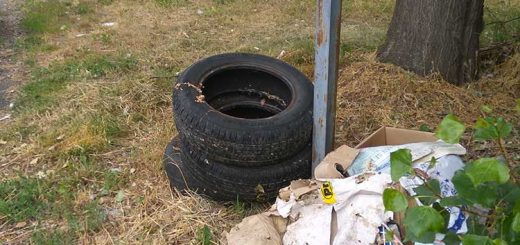 Illatos út még mini hulladéklerakata