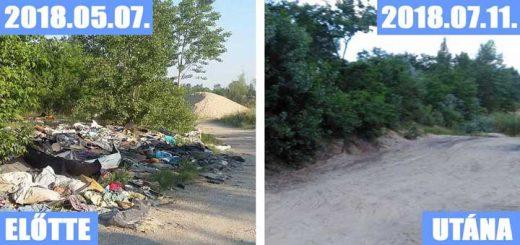 Szigetszentmiklósi bányató hulladékkupacai