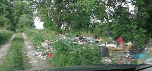 Tököliút hulladékkirakata Szigetszentmiklóson
