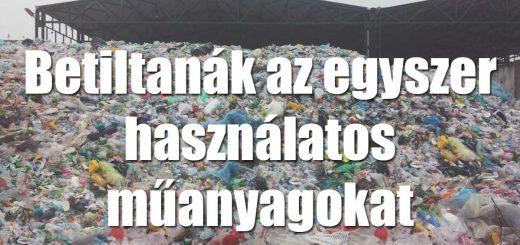 Brüsszel bekeményít: kevesebb műanyagot akar!