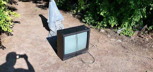 Tévével lezárt hulladéklerakat Hajdúszoboszlón