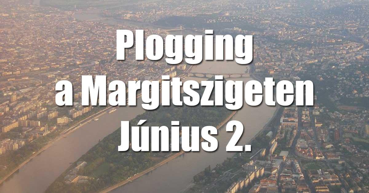 Plogging - szemétszedő kocogás a Margitszigeten június 2-án