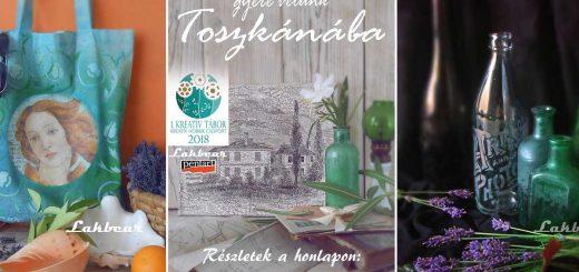 KHCS kreatív tábor Toszkánában!