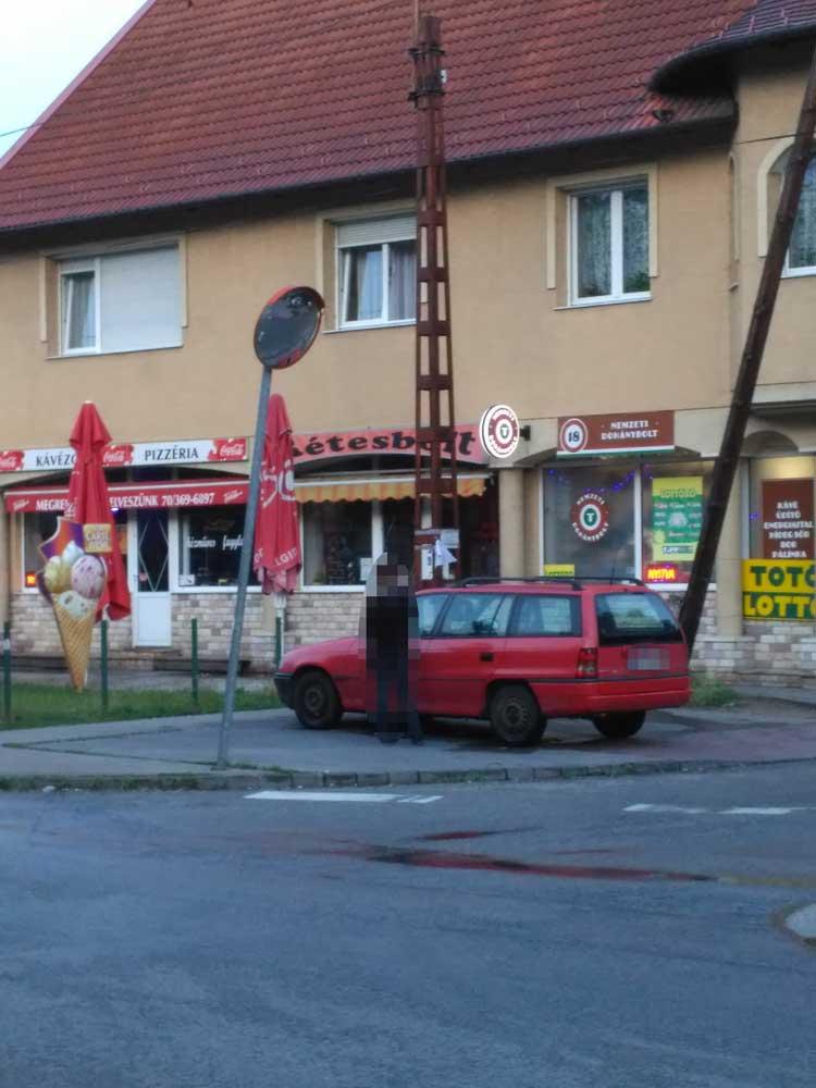 A 10 zsák szemét valós tulajdonosa? / Fotó: hulladekvadasz.hu