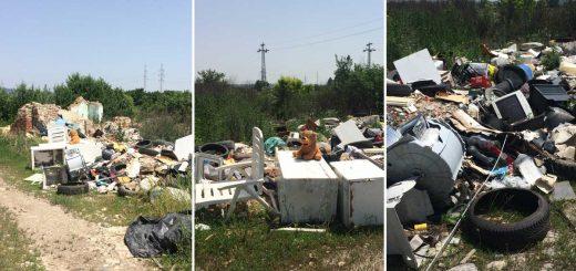 Több tonna veszélyes hulladék Pécs külterületén
