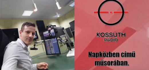 Kossuth Rádió Napközben műsorában a Hulladékvadász