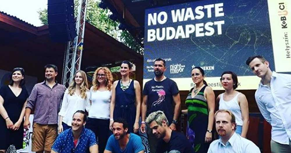 A rendezvényen megjelent szervezetek képviselői csoportképe. / Fotó: Zöldövezet Társulás Instagram