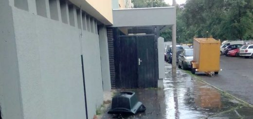 Ablakon kidobott tévé esete Szegeden