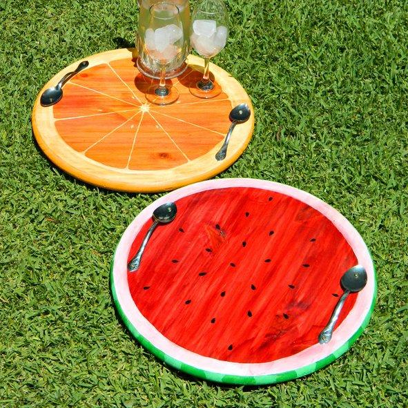 Fessünk gyümölcsös tálcákat. / Fotó: instructables.com