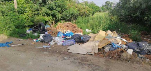 Homoktövis utca hulladéklerakata Dunaharasztiban