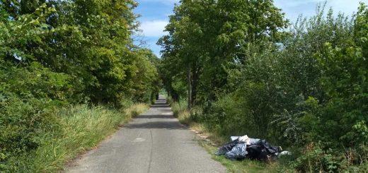 Keserűvíz utca útmenti hulladéklerakata