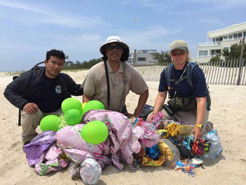 Lufik, amiket az óceánból halásztak ki. / Fotó: USFWS