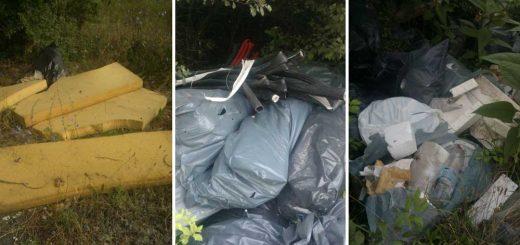Dány külterületi hulladéklerakata