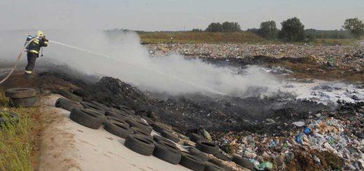 Hatvanban ismét égett a hulladék