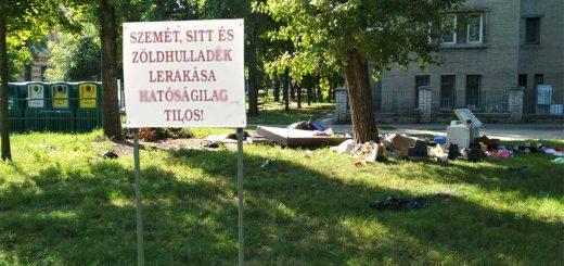 Péceli utca lomtalanítási hangulata Ferencvárosban