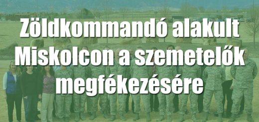 Zöldkommandó alakult Miskolcon a szemetelők megfékezésére