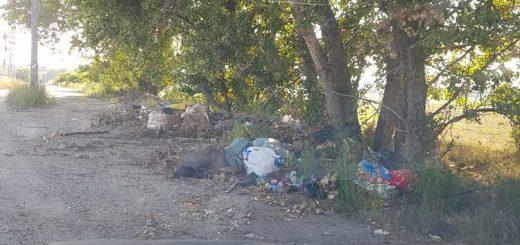 Bökényföldi út hulladéklerakata a XVI. kerületben
