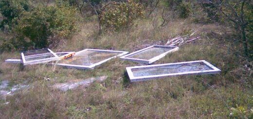 Veszprémi Kádárta külterületén műanyag nyílászárók