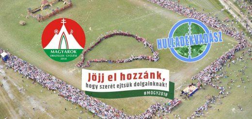 Magyarok Országos Gyűlése eseményén a Hulladékvadászat
