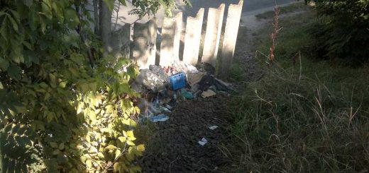 Román utca vasúti töltésénél hulladék Kőbányán