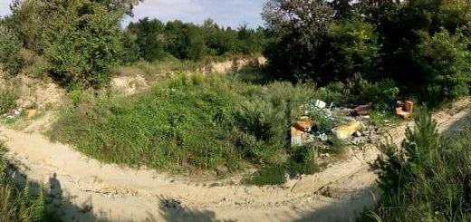 Sülysápi volt homokbánya hulladéklerakatai