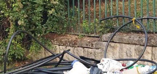 Vérhalom utca hulladéklerakata II. kerületben