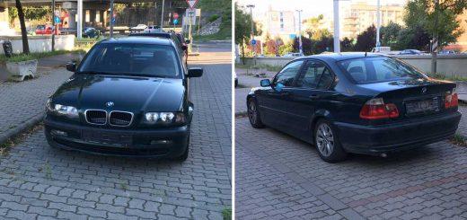 BMW rendszám nélkül a Dombóvári úton