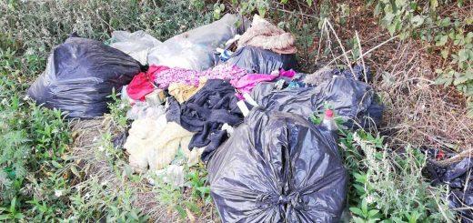 Hajdúhadház: valaki elhagyta a kommunális hulladékát!