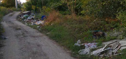 Barázda utca útmenti hulladéklerakatai Szigetszentmiklóson