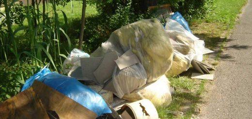 Gárdonyi Nefelejcs utca veszélyes hulladéka