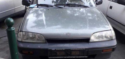 Lövölde tér rendszám nélküli autója a VII. kerületben