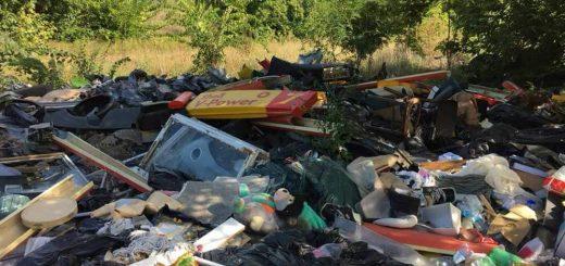 Szuglói körvasútsor fejetlen hulladékhelyzete