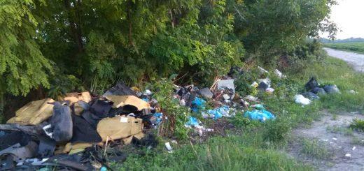 Homokgyőr illegális hulladéklerakatai Kalocsán
