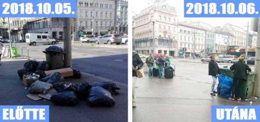Astoria látványossága: hulladék a város szívében