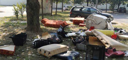 Felborított kukák, szétdobált szemét! - Hulladékháború Szegeden