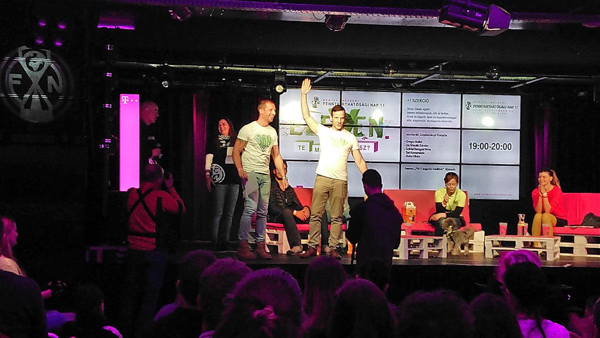 A Telekom Fenntarthatósági napján elnyertük az egyik legjobb kiállítónak járó díjat. Részletek a képre kattintva.