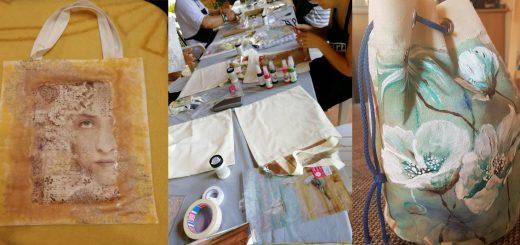 Környezetbarát textilszatyor díszítése – #66 DIY
