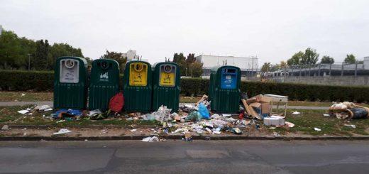 Balkáni állapotú szelektív hulladékgyűjtő szigetek