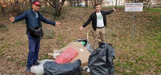 Fittikém hulladékvadásznak állt | 89.5 Music Fm