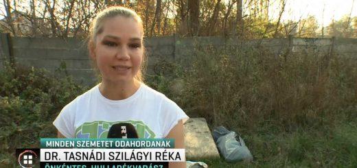 Hulladékvadász bejelentés az RTL Klub Híradóban