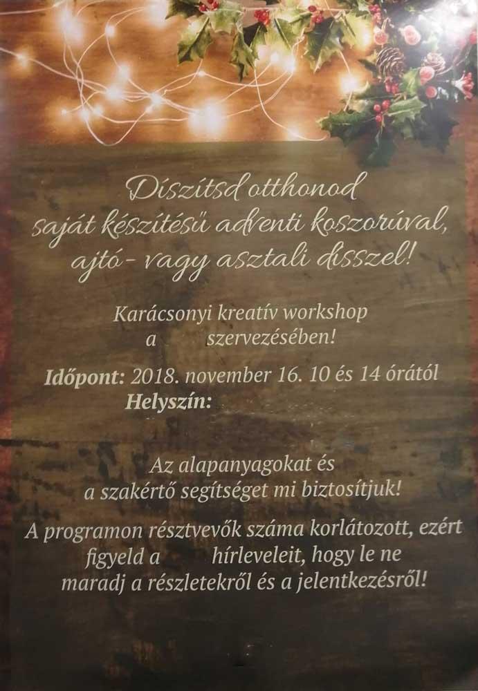 Invitáló plakát cégen belül